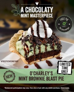 OCharleys Mint Brownie